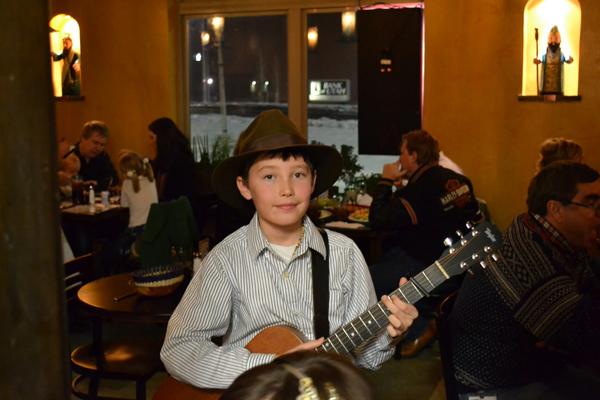 Jackson Danger Musician | Milagros Mexican Restaurant Utah