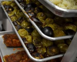 Mexican Food Orem Roasting Tomatillos