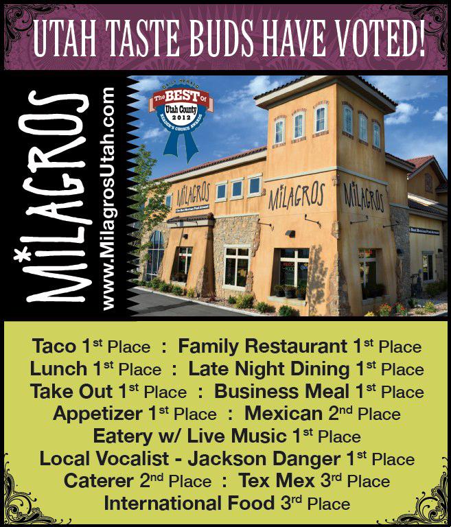 Best Mexican Food In Utah County