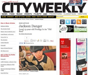 City weekly Jackson Danger article