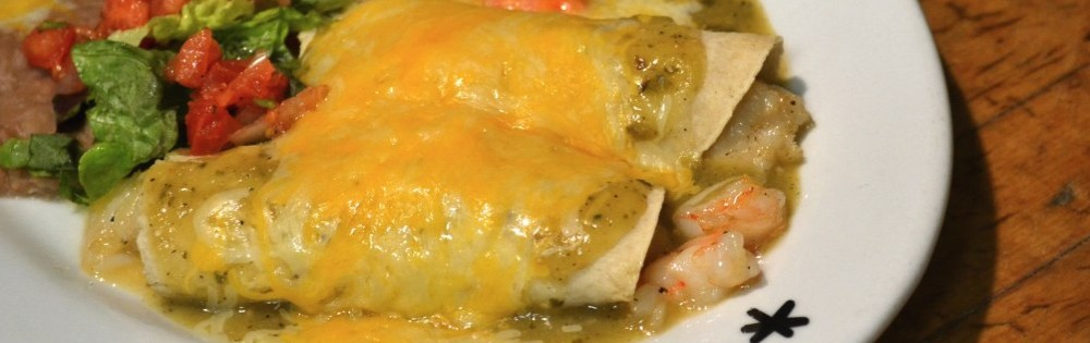 Seafood Enchalada