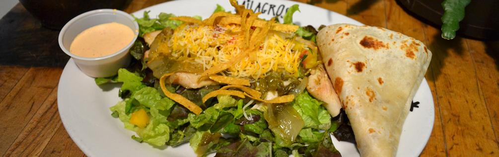 Bajio Mango Salad at Milagros in Orem, Utah - Best Mexican Food Near By